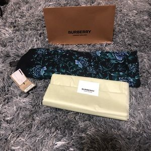 Burberry Accessories - NWT Burberry 100% silk scarf!